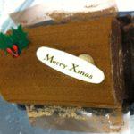 クリスマスケーキはブッシュドノエル