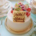 バースデイケーキ・デコレーションケーキ・